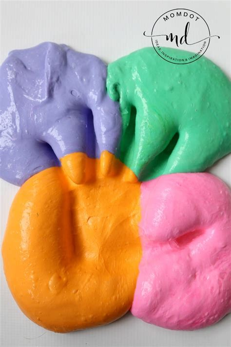 slime diy how to make fluffy slime with