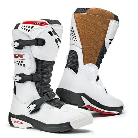 tcx boots motocross tcx comp white motorcross boots module moto
