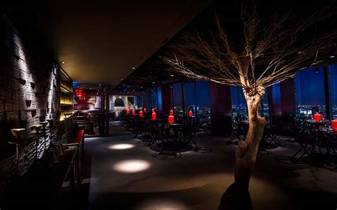 bar at the top of the shard hutong the shard