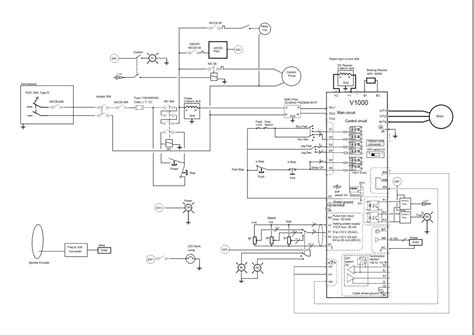 yaskawa vfd wiring diagrams yaskawa free wiring diagrams