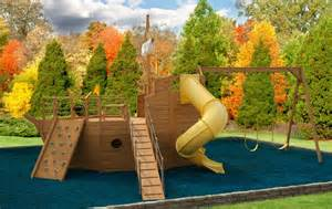 Pirate Ship Backyard Playset Beat For Boat Wooden Boat Playset Plans