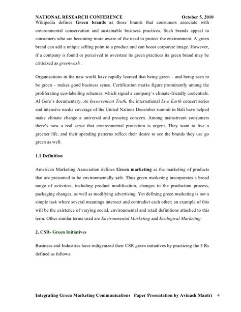 environmental research papers research paper on environmental marketing