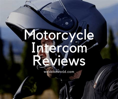 Motorcycle Intercom/Communication System Reviews   wBW