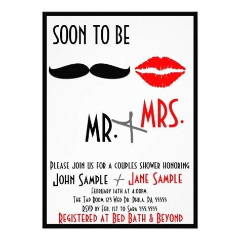 Couples Bridal Shower Invitations by Bridal Shower Couples Invitation