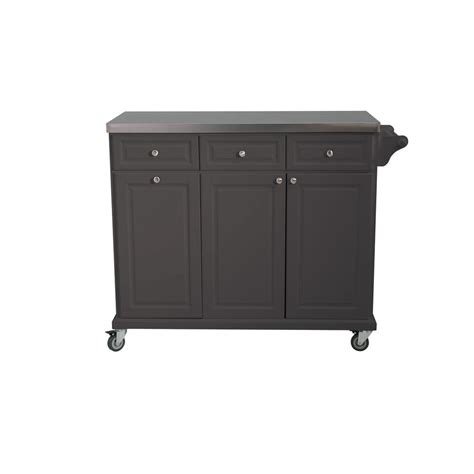 sunjoy buckhead charcoal with stainless steel top
