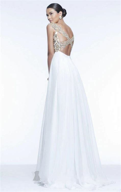 beaded white prom dress cap sleeve white beaded evening gown