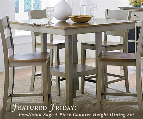 American Freight Kitchen Tables by Featured Furniture Pendleton Counter Height Dining Set