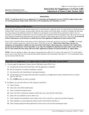 supplement i 485 fillable uscis supplement a to form i 485