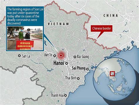 vietnam quarantines area   residents
