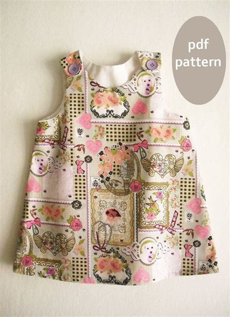 pattern sewing for baby a line dress pattern tutorial toddler dress pattern girl