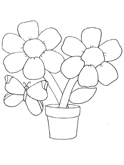 free coloring pictures of flowers and butterflies butterfly coloring page coloring town