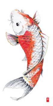 Japanese koi fish tattoo flash japanese tattoo log