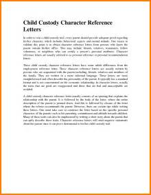 character reference letter for child custody template 4 letter of child custody day care resume