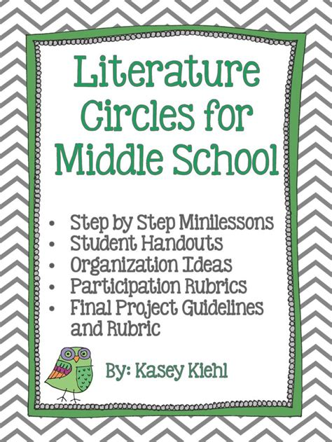 literature themes for middle school literature circles for middle school common core aligned