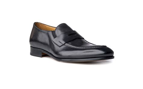 italian loafer shoes loafer shoes in black antique italian leather