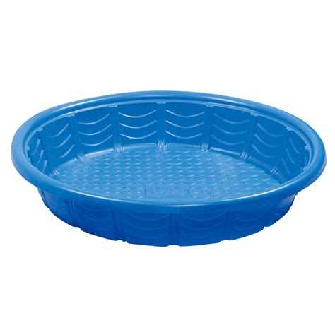 shop summer waves wading pool 45 in l x 45 in w blue