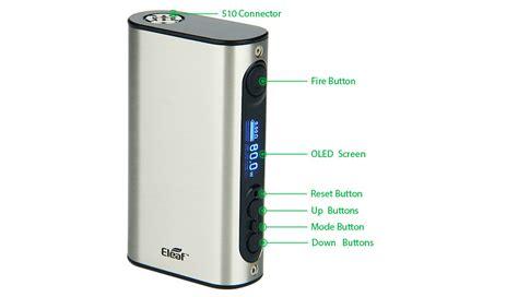 resetting eleaf battery ipower tc mod by eleaf