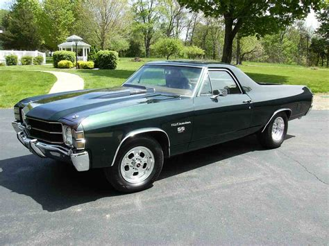 chevrolet el camino for sale 1971 chevrolet el camino ss for sale classiccars