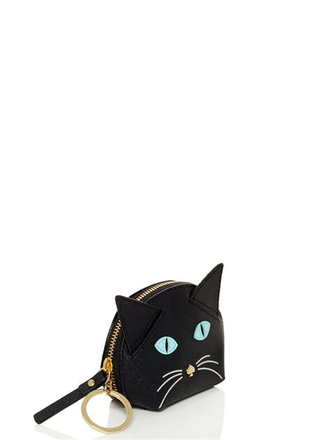 Kate Spade 1881 Set 2in1 kate spade new york cat s meow cat coin purse in black lyst