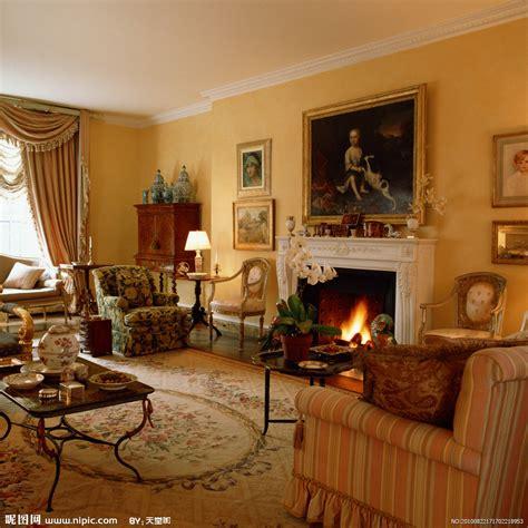 wallpaper for classic living room 客厅摄影图 室内摄影 建筑园林 摄影图库 昵图网nipic com