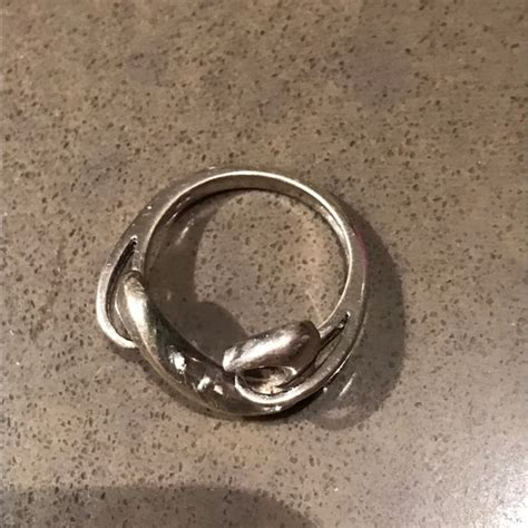 jewelers open ring 73 jewelers jewelry open hearts sz 7 sterling
