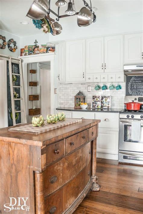 primitive farmhouse kitchen images
