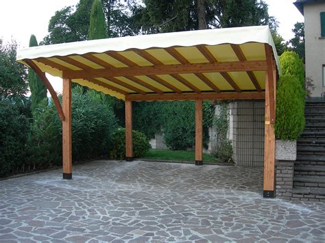 tettoie legno lamellare tettoie per giardino in legno lamellare