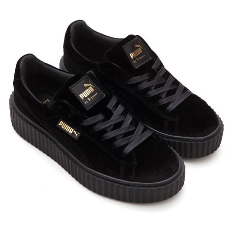 Sneakers Murah Rihana White Black fenty by rihanna creeper fenty x shoes accessories
