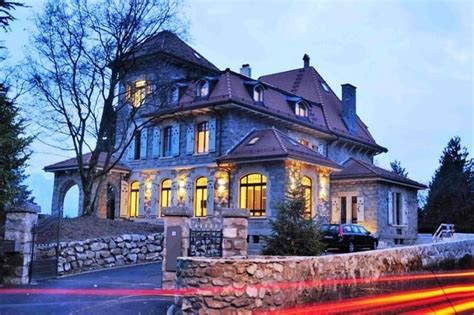 ultra modern house situated in geneva switzerland the griffin house in geneva will charm you away