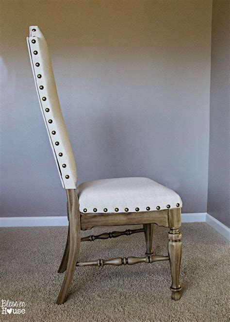 diy reupholster dining chair back best 25 dining chair redo ideas on