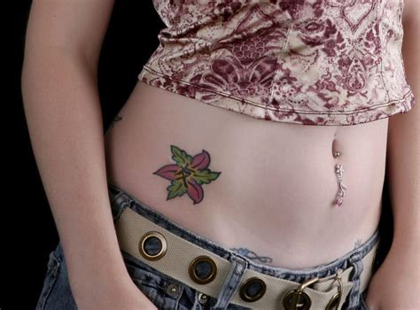 body tattoos for females poppy meaning