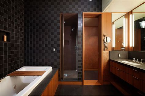 Large Bathroom Designs chic and wide loft style apartment in soho nolita new