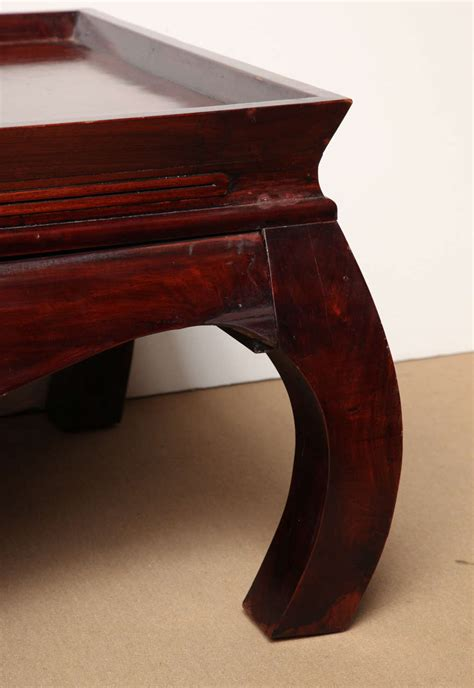 Asian Style Coffee Tables Asian Style Coffee Table With Drawer At 1stdibs