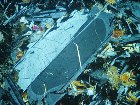 plagioclase in thin section page74tynemouth hartleybay