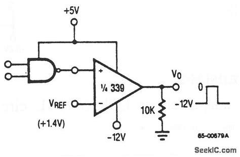 ttl integrated circuit logic ttl to mos logic converter a d d a converter circuit circuit diagram seekic