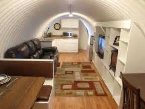 Corrugated survival shelter underground 001