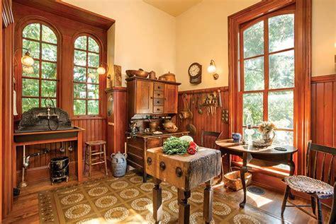 Restoration Hardware Kitchen Island A Period Perfect Victorian Kitchen Old House Online