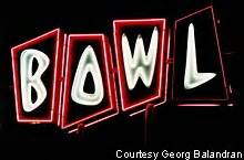 Garden Grove Bowling Roadside Peek Neon Bowling Southern California 1