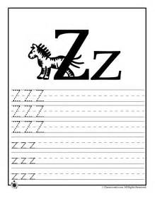 learn letter z woo jr activities