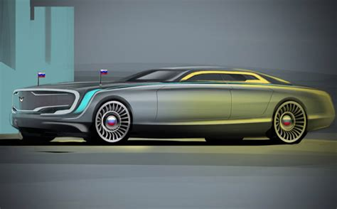 new limo vroom5000cc putin s new limo from top 10 russian designs