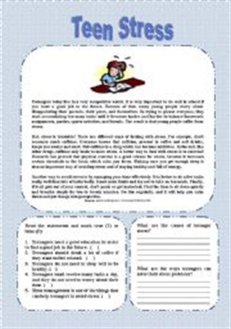 printable holiday stress quiz english teaching worksheets stress