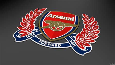 wallpaper gambar logo arsenal fc terkeren boeob