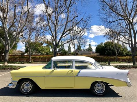 Garage Sale Finder La 1956 Chevrolet 210 Caifornia Tri Five Garage Find At No
