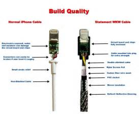 ios news iphone statement wkw lightning heavy duty cable quot audiophile quality quot
