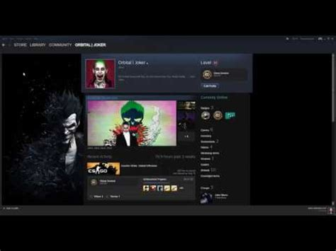 best steam best themed steam profile joker