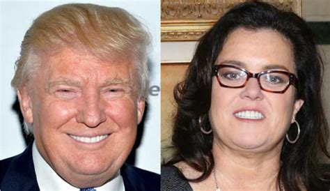 Donald Versus Rosie Odonnell A Real Lovehate Relationship breaking news donald vs rosie o donnell a cross