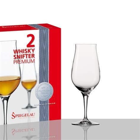 ausgefallene gläser 2 whisky snifter premium spiegelau neu in geschenkvpackung