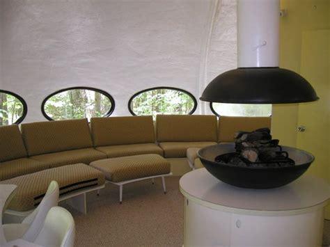 futuro haus futuro house home inside a ufo