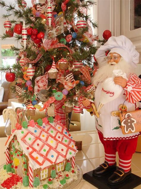 kitchen christmas tree ideas 192 best candy themed christmas decorations images on