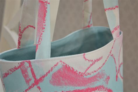 sewing pattern tote bag lined sew a lined tote bag
